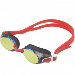 Poqswim Waterproof Anti Fog Uv Adults Professional Colored Lenses Diving Swimming Glasses Eyewear Swim Goggles